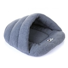House Dog Products Pet-Cushion Cat Comfortable Soft Winter Bed Slipper-Shape Warm High-Quality