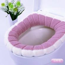 Универсальное мягкое подогреваемое моющееся сиденье для унитаза, коврик для домашнего декора, коврик для унитаза, чехол для сиденья, грелка, крышка для унитаза, аксессуары
