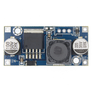 Image 1 - 100pcs LM2596HVS LM2596 HV LM2596HV DC DC Passo Regolabile Imbottiture Buck Converter Modulo di Alimentazione 4.5 50V A 3 35V Urrent di limitazione