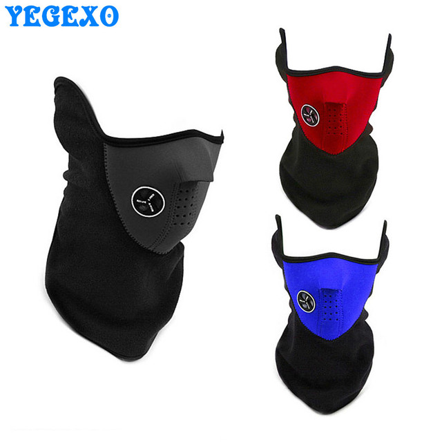 Motorcycle Anti Dust Half Face Mask Cover Unisex Outdoor Sports Windproof Winter Warm Protecting Neck Scarf Face Maske 1