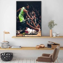 1 Piece Decorative Derrick Rose Good Basketball Player Poster Pictures Landscape Wall for Living Room Decor Canvas Wholesale