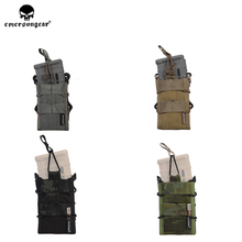 emersongear Emerson 556 Double Magazine Pouch Modular Molle Hunting Open-top Tactical Military Airsoft M4 M16 Mag