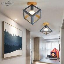 Nórdico Simple nuevo moderno LED lámparas de araña dormitorio sala de estudio lámpara pasillo Loft casa luminaria iluminación interior
