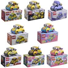 TAKARA TOMY méprisable moi Minions mal Kevin 1:64 Diecat véhicule alliage métallique voiture modèle jouets pour enfants cadeaux d'anniversaire