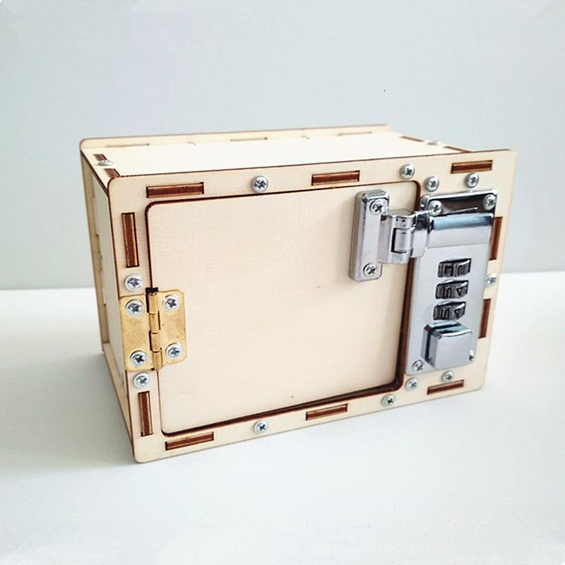 Коробка с паролем «сделай сам», детские научные и школьные проекты, научные игрушки для детей, обучающие игрушки для мальчиков
