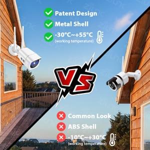 Image 5 - 4G سيم بطاقة IP كاميرا 1080P 5MP HD اللاسلكية واي فاي في الهواء الطلق الأمن كاميرا مصغرة CCTV المعادن P2P Onvif اتجاهين الصوت Camhi