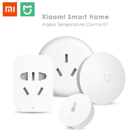 Original Xiaomi Mijia Smart Home Temperature Control Set Air Conditioner Controller Temperature Humidity Sensor Wireless Switch