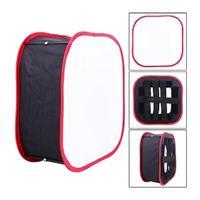 휴대용 접이식 조명 modifier softbox 전문 led 라이트 패널 yongnuo yn600 yn900 40x40cm|소프트 박스|   -