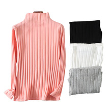 High Quality Winter autumn Long sleeve tshirts for women turtleneck Bottoming shirt ladies tees