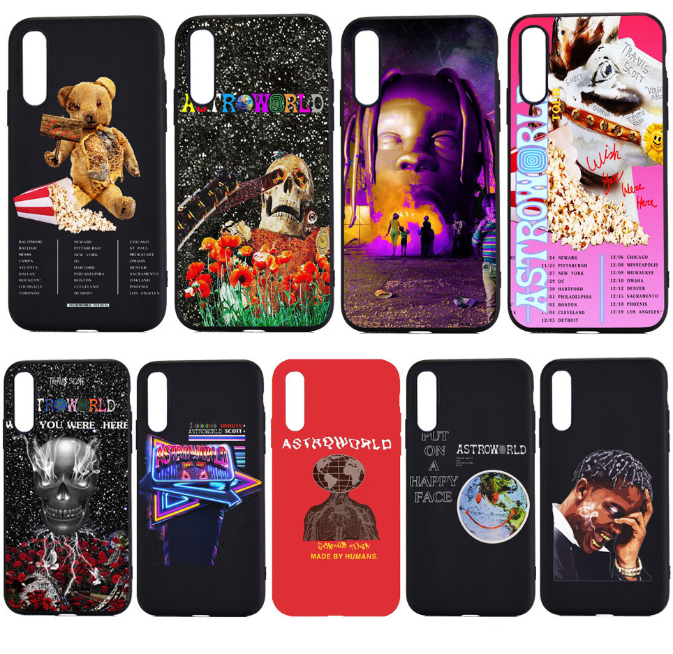 PUNQZY Astroworld travis scott wish you were here Phone Case For iPhone 7 7s 5s SE 6s 8 Plus X XS MAX Soft TPU Silicone Case