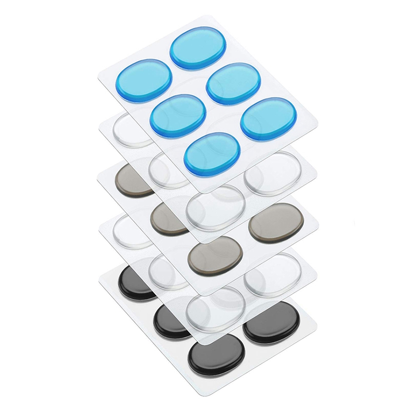 30 Piece Drum Shock Absorber Gel Pad Silicone Drum Dampening Gel Pad Non-Toxic Soft Drum Shock Absorber For Drum Tone Control