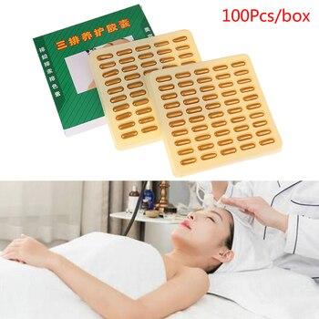 100PCS/Box Beauty Salon Dedicated Facial Detoxification Capsule Whitening Spot Ultrasound Import Export Instrument Lead Mercury