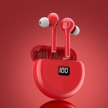 Wireless Earphones Bluetooth 5.0 TWS Headphones IPX7 Waterproof Earbuds LED Display 9 HD Stereo Built-in Mic for Xiaomi iPhone