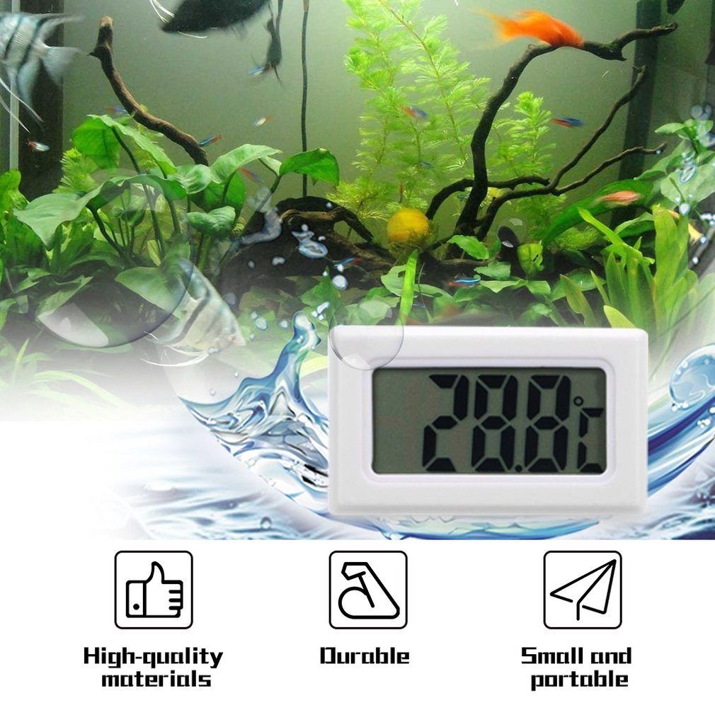 Digital Lcd Thermometer Waterproof Portbale Water Submersible Precision Electronic Termometers Measuring Temperature