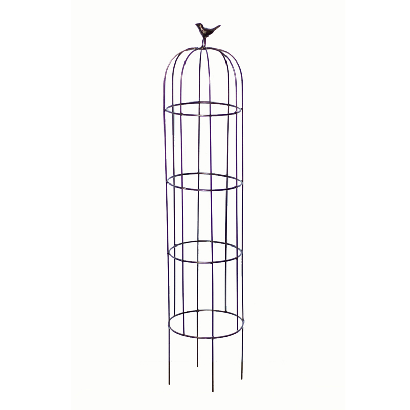 Classical Bird Cage Flower Stand For Clematis