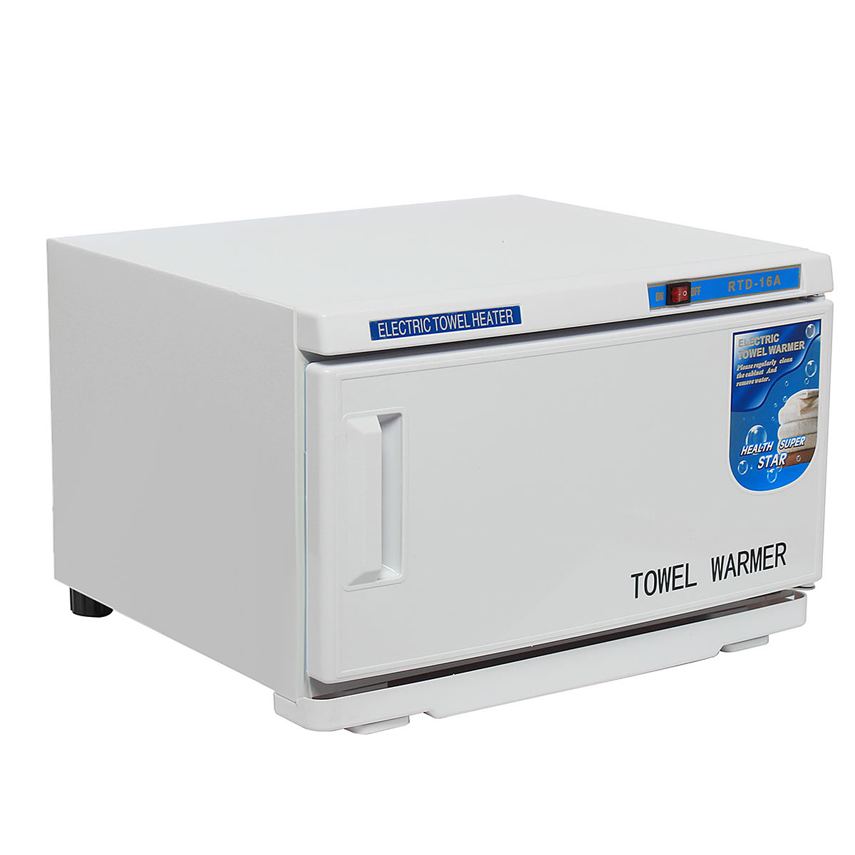 UV Light Hot Sterilizer Disinfection Towel Warmer 16L 200W 110V Cabinet Sterilization Stainless Steel Nail Beauty Art Equipment