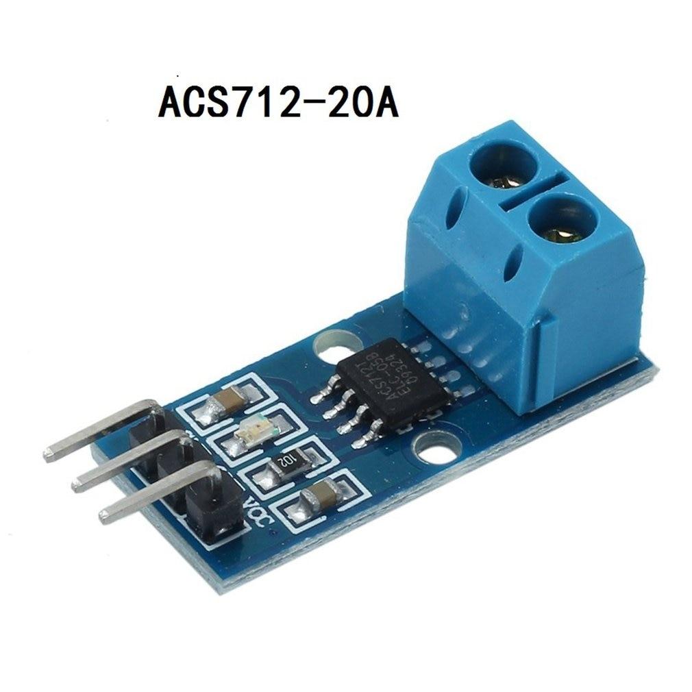 20A Range Hall Current Sensor Module ACS712 Model For Arduino