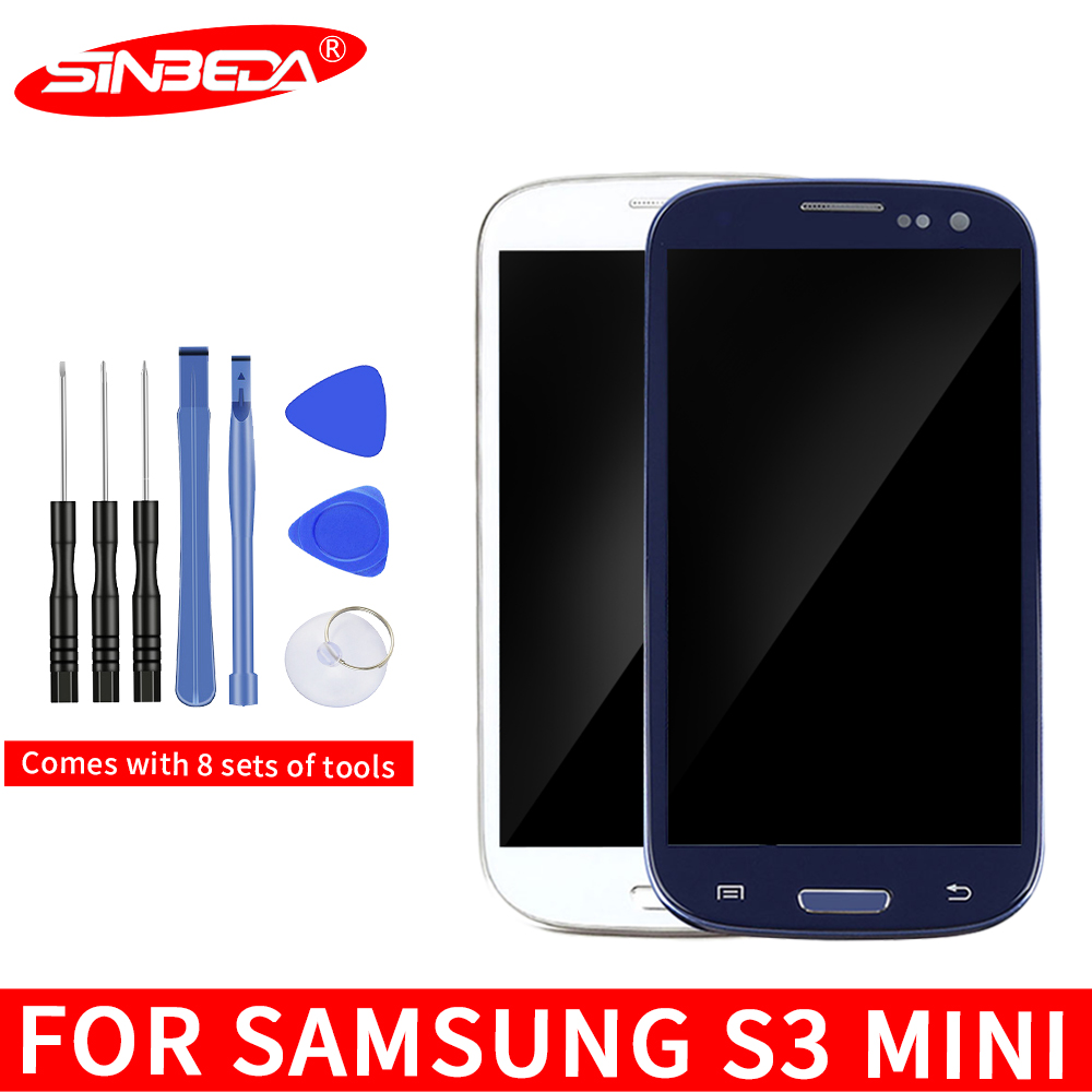 Super AMOLED 4.0'' LCD For SAMSUNG GALAXY S3 Mini i8190 i8190N i8195 LCD Display Touch Screen Digitizer Assembly Frame|Mobile Phone LCD Screens| |  - title=