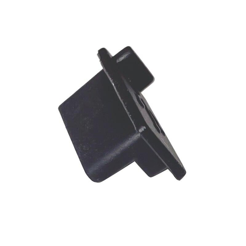 6pcs /7pcs Black Silicone Dust Plugs Set USB HDM Interface Anti-dust Cover Dustproof Plug for PS5 Game Console Accessories Parts 4