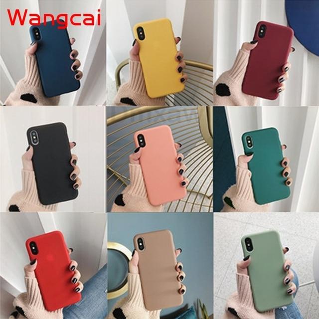 candy color silicone phone case for huawei p40 pro plus p30 lite pro p20 lite p10 p smart plus z 2019 2018 case matte tpu cover 1