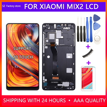 5.99 Inch Screen Replacement For Xiaomi Mi MIX 2 LCD Display & Touch Screen Digitizer Frame Assembly Set For MiX2 Snapdragon 835 image