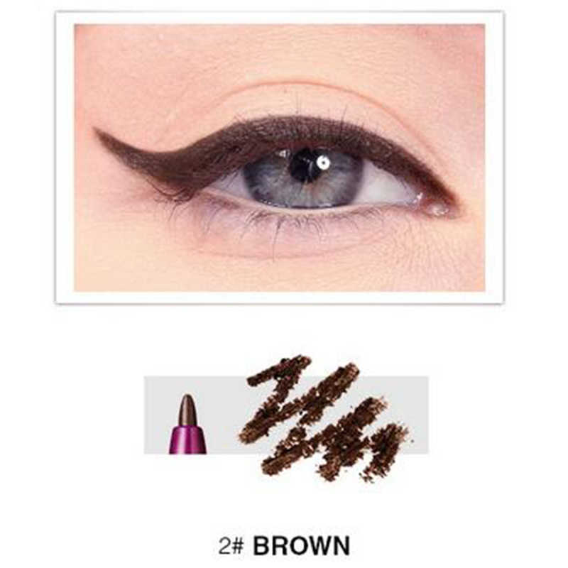 Menow matte eyeliner pencil waterproof long lasting 24 Hours smooth KAJAL eye liner MN066(brown)