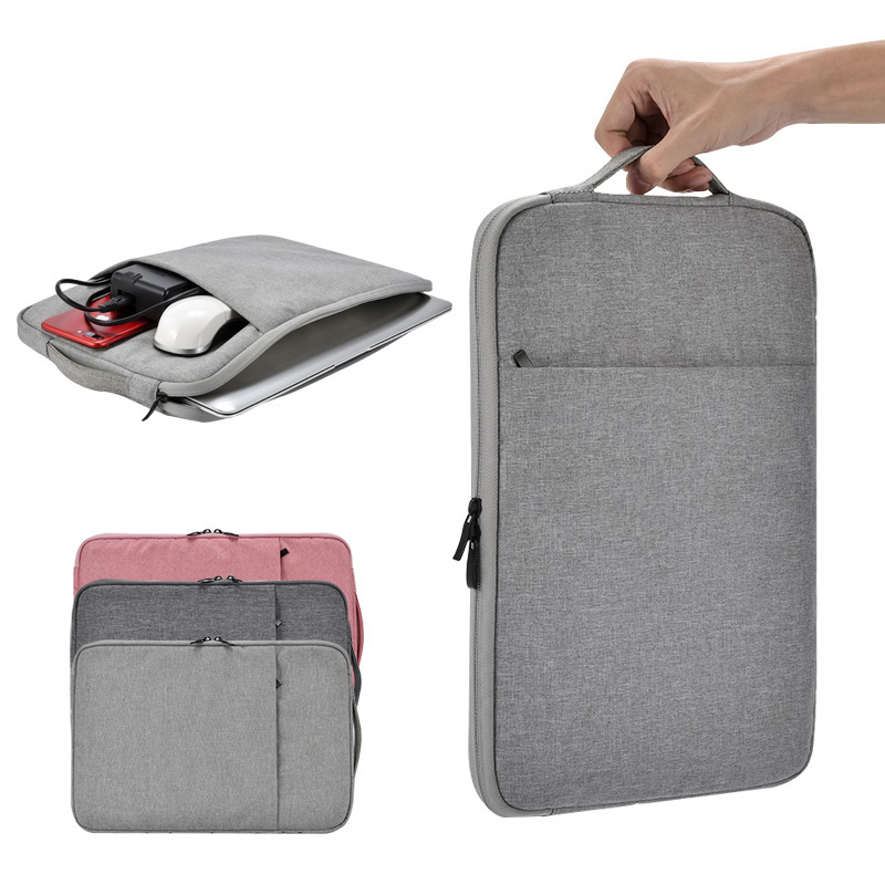 Laptop Sleeve Case 11 13 14 15 <font><b>15.6</b></font> inch Bag For Macbook Air Pro 13.3 15.4 nylon liner <font><b>notebook</b></font> <font><b>pouch</b></font> for iPad 12.9 for Dell HP image
