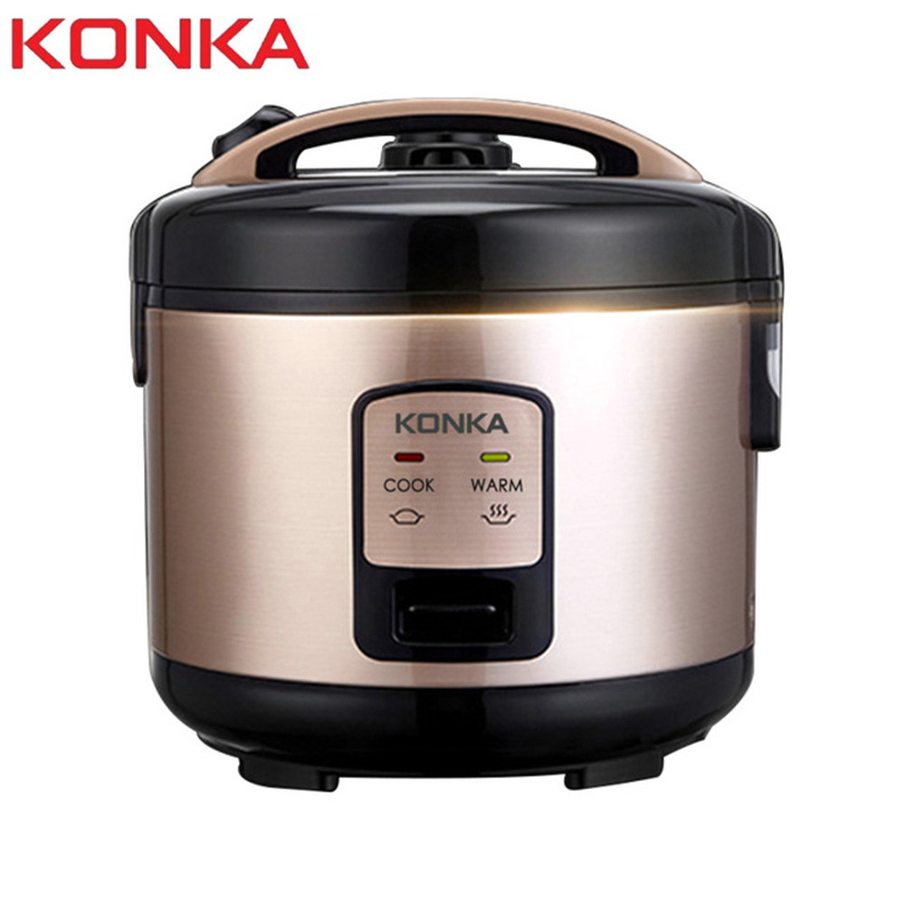 KONKA 1L 1.5Kpa Electric Rice Cooker Micro Pressure Rice Cooking Machine With Non-Stick Coating Detachable Exhaust Valve