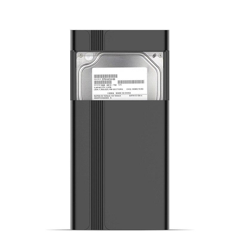 1G Second Pass мобильный жесткий диск коробка USB3.0 2,5 дюймов SATA, серийный выпуск порт быстрое удаление жесткий диск коробка мобильный