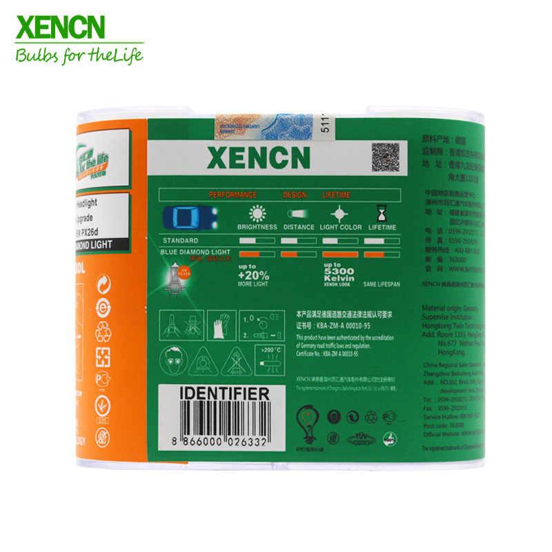 XENCN H7 12V 55 ワット 5300 18K 5300k ヘッドライトハロゲン電球究極の白色用 vw ポロ土地ローバー新 2 個