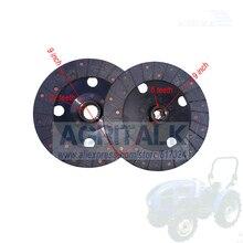 Set di piastre frizione (principali e ausiliari) per Fengshou Lenar 254 274 trattore, numero di parte: 250.21.013 + 250.21.015