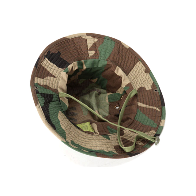 Tactical Boonie Hat Army Fisherman Cap Military Training Sun Protector  Hat Outdoor Sports Camouflage Fishing Hiking Hunting Cap 3
