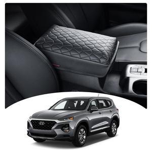 LFOTPP Car Armrest Box Cover For Santa Fe TM 2020 Central Control Armrest Container Pad Auto Interior Decoration Accessories(China)