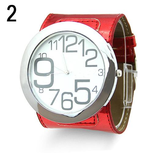 Clock Women Men Luxury Sport Faux Leather Big Marker Analog Quartz Wrist Watch Reloj Mujer 2019 Montre Couple Homme Et Femme