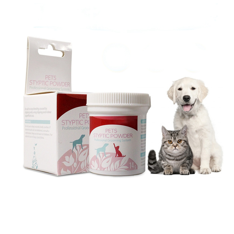 14g/bottle Pet Styptic Powder Dog Cats Anti Inflammation Analgesia Powder Pet Medical Puppy Home Profession Aids Supplies