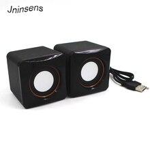 Mini altavoz con cable USB, amplificador de reproductor de música, altavoz, caja de sonido estéreo para ordenador de escritorio, PC y Notebook