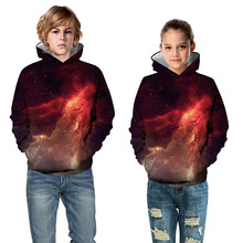 Hot Fashion Boys Girls Hoodies Children Cartoon Printing Sweatshirts Kids Unisex Tops Clothing