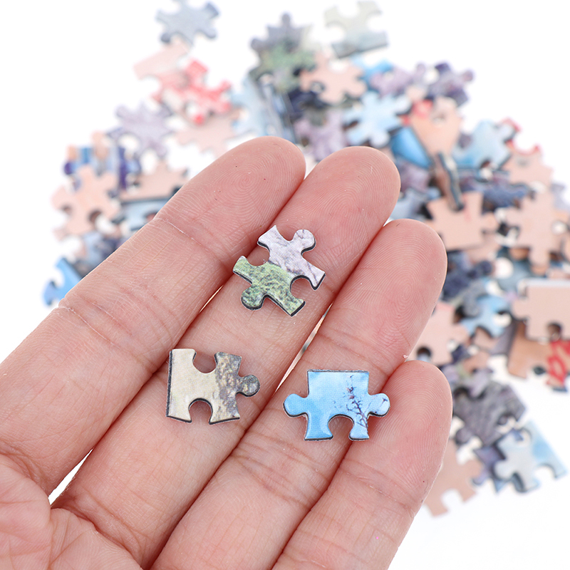 150 Pieces Tube Mini Paper Puzzles Game Toys For Children Adults Learning Education Brain Teaser Assemble Toy Games Jigsaw