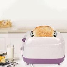 Тостер с 2 ломтиками, Автоматический быстрый нагрев, тостер для хлеба, бытовой, для завтрака, европейская вилка