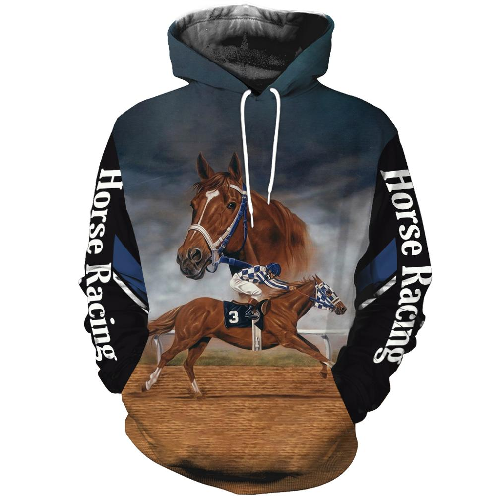 Hot Sale Men Women Horse Racing Secretariat Limited Edition 3d Zipper Hoodies Long Sleeve Sweatshirts Jacket Pullover Tracksuit