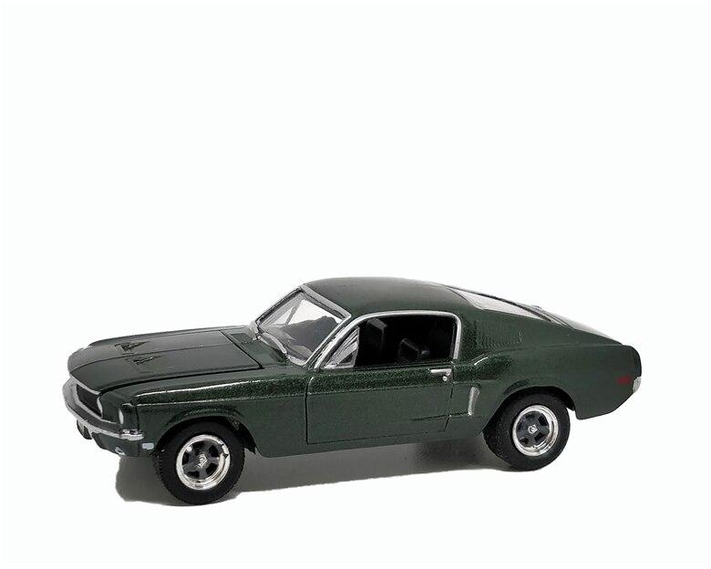1:64 Greenlight Ford Mustang GT 1968 Bullitt Green No Box