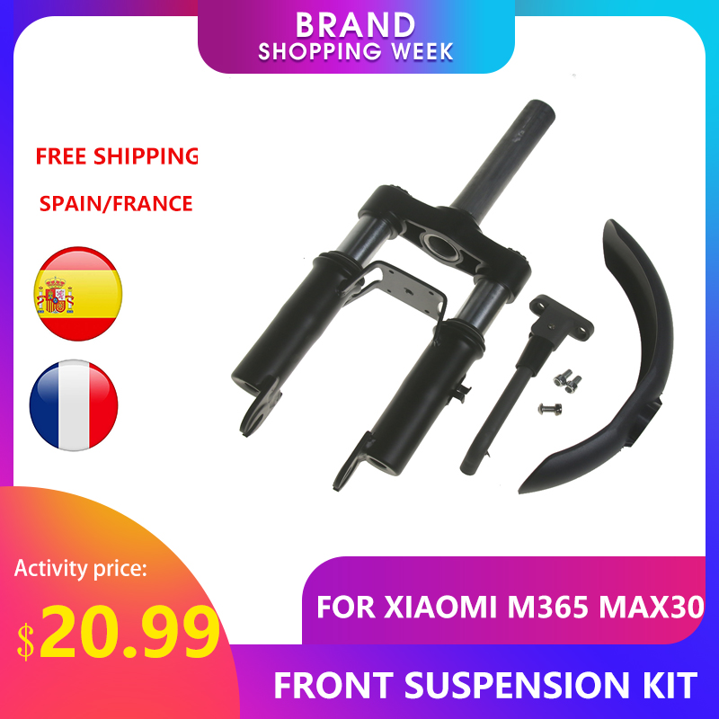 Scooter Rear Shock Front Suspension Fork For Xiaomi Mijia M365 Pro Pro2 Electric Scooter Max G30 Front Tube Shock Accessoires