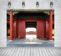 Красный винтажный фон Ktonsdci для фотосъемки с изображением деревянной двери, фон для детской фотосъемки с изображением домашних животных в ф...