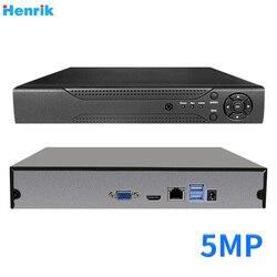 H.265 16Ch CCTV NVR 1080P lub 5MP NVR ONVIF rejestrator sieciowy wsparcie dla bezpieczeństwa kamera IP XMeye P2P widok aplikacji