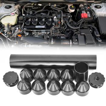 13 sztuk zestaw filtr paliwa 1 2-28 5 8-24 aluminium filtr paliwa filtr rozpuszczalnika dla NAPA 4003 24003 10IN filtr paliwa filtr dla NAPA tanie i dobre opinie cacoonlisteo 0 0inch 660g aluminum Fuel Filter Fuel Filter 1 2-28 5 8-24 Support