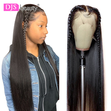 13x6 Lace Front Human Hair Wig 8 30 Inch Straight Human Hair Wigs Remy Hair 180 Density Lace Frontal Wigs For Black Women