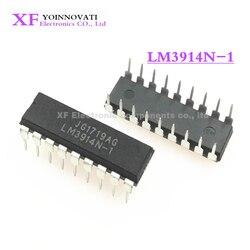 10 шт./лот LM3914N-1 LM3914N LM3914 водителя DOT бар дисплей 18-DIP IC новый оригинальный