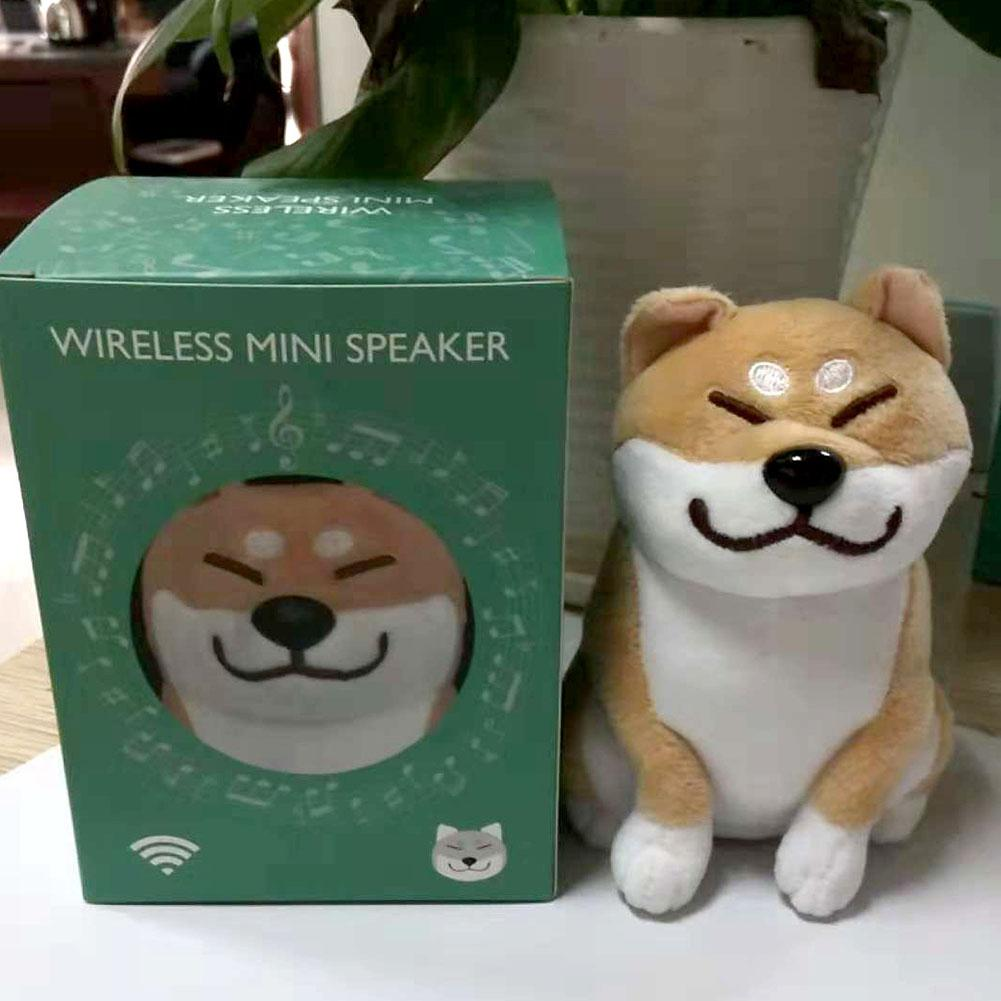 Cute Space Dog Stereo Bass Wireless Bluetooth Speaker LED HD Audio FM Soundbox