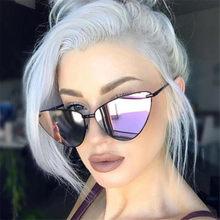 Nette Sexy Cat Eye Sonnenbrille Frauen Retro Cateye Sonnenbrille Weiblich Vintage Shades Oculos De Sol Masculino очки 145mm