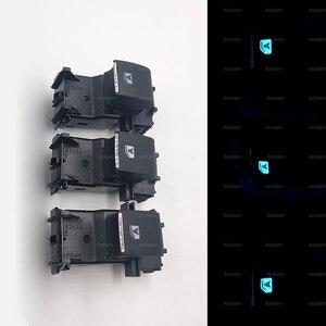 Image 5 - LED مضاءة نافذة السلطة التبديل لتويوتا RAV4 RAV 4 كورولا ليفين ويلدلاندر 2019 2020 الخلفية اليسار ترقية القيادة